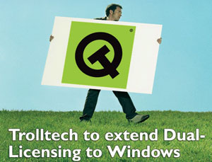 Trolltech to extend Dual-Licensing to Windows