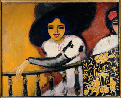 Woman at the Banister, Kees van Dongen (C) ADAGP, Paris-SACK