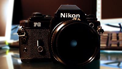 늠름한 Nikon FG