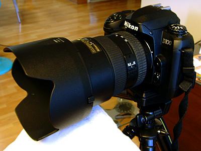 Nikon D100과 AF-S Nikkor 17-55mm 1:2.8G ED