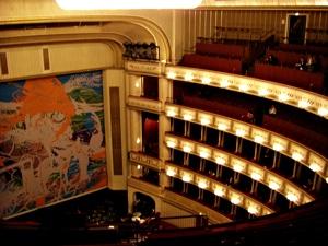 빈 국립 오페라 극장 맨 끝 자리에서